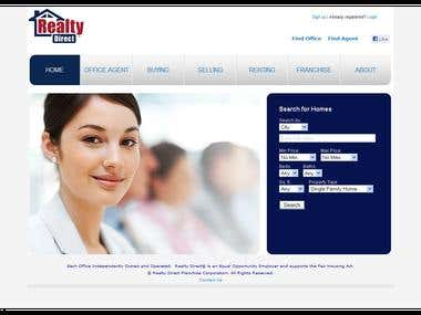 Realty Direct Website Project