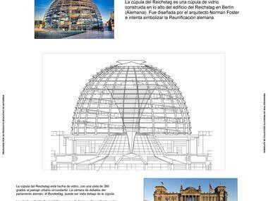 Reichstag Parliament AutoCAD Design