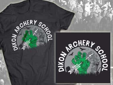 "T-shirt \""The Walking dead\"""