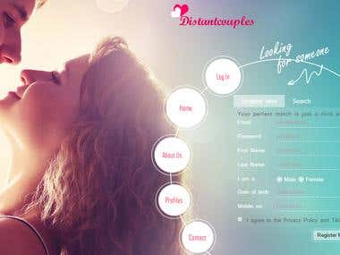 Dating Website -  Codeignitor
