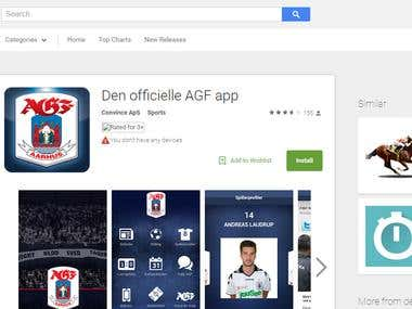 The official AGF app - Android