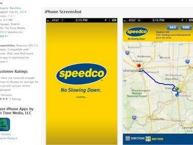 Speedco App - iOS