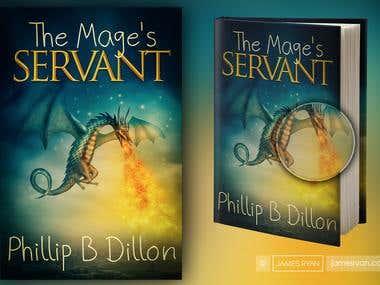 The Mage\'s Servant - Book Cover Design