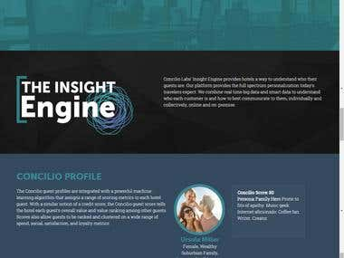 Converted a PSD design to responsive WordPress site