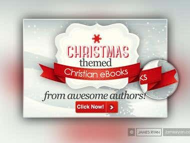 Banner Design for - Christmas Themed eBooks