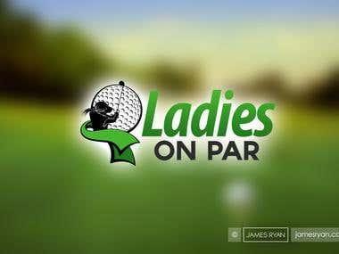 Logo Design for - Ladies On Par