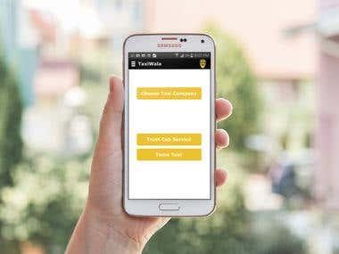 TaxiWala Application