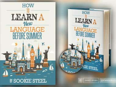 Book cover for - How to learn a new language before summer