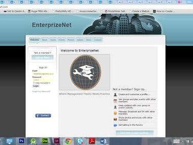Enterprizenet Social Network
