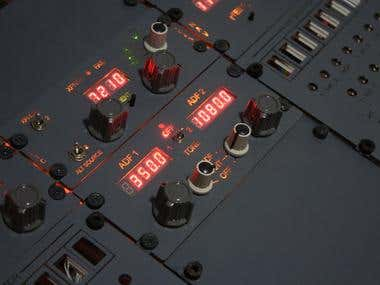 Boeing 737 Radio Pedestal for Home Simulators