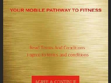 Fitmobile Mobile Application