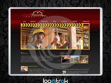 GrandeMaison Website Design