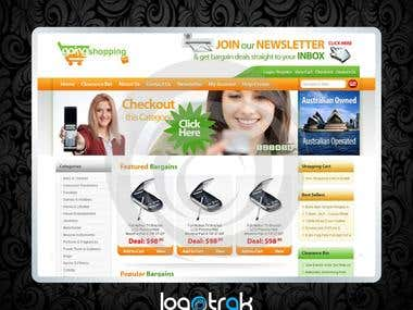 GoingShopping Website Design