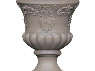 Classical Urn Planter