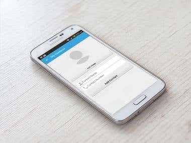 Contacts Android Application