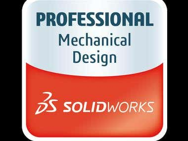 Certified SolidWorks Professional - Core.