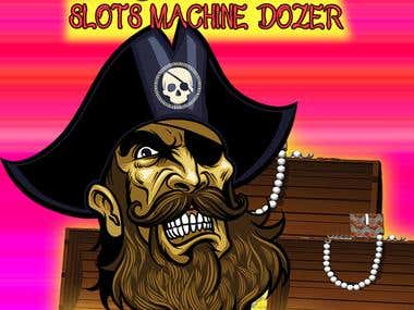 "Craze Pirate Coin Slots Machine Dozer ""iOS\"""