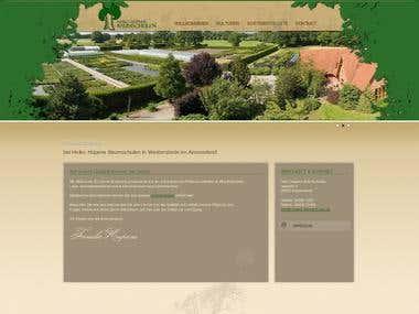 PSD to Html - http://hupens-baumschulen.de/