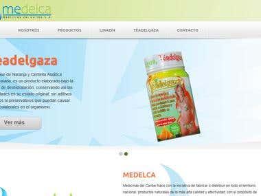 Web site for Medicinas del Caribe