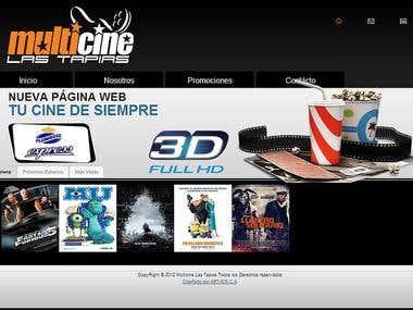 Website for cinema