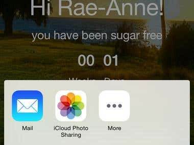iPhone  ;  Sugar Free