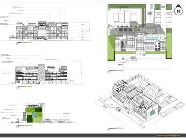 Apartment building design