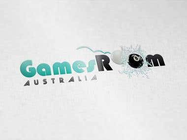 Creative logo designed for Games Room