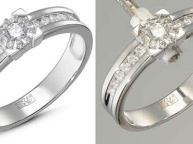 jewelry photo retouch