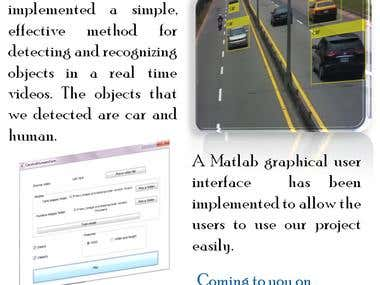Object Detection and Recognition by Matlab