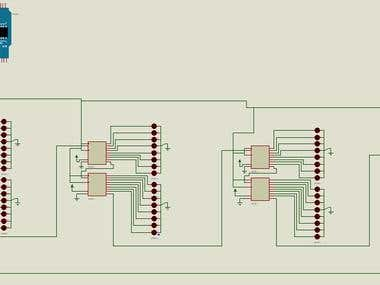 Arduino to control LEDs circuit
