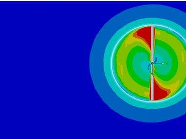 CFD Analysis of Rotor