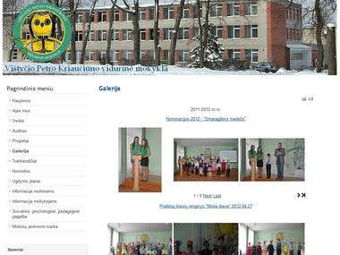 Website and it's integration to FB