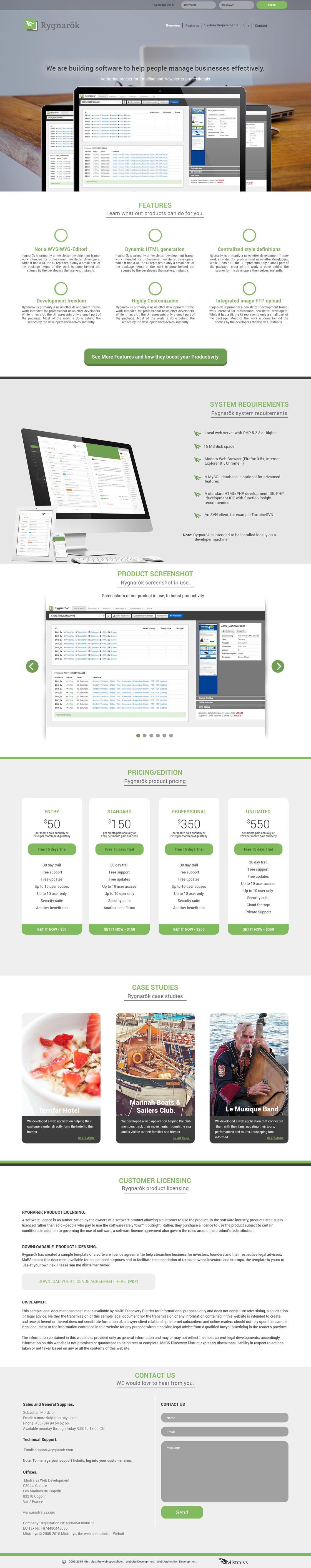UI / Website Design