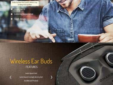 Pears Website Design