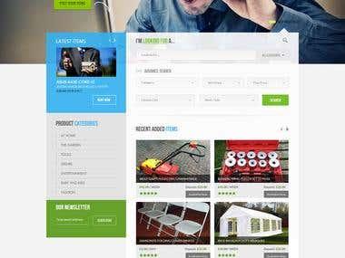 Rentwagon website project