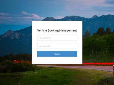 Vehicle Booking Management