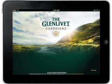 The Glenlivet Guardians - Start Screen