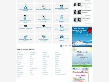 marketplace like  indiamart.com  : http://advertiserhome.com