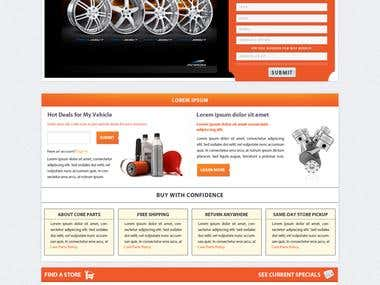 Tyre selling website