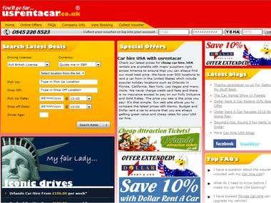 Online Car rental web-sites