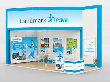 Banner for Standbooth -  Landmark Travel