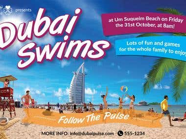 Flyer - Dubai Swims