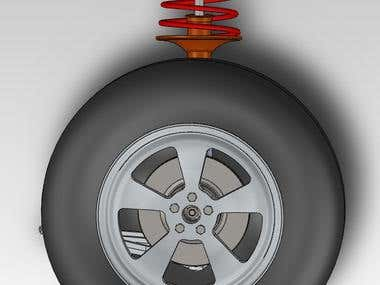 McPherson suspension design