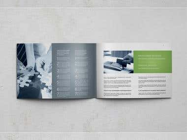 Буклет для компании Meier Invest Group
