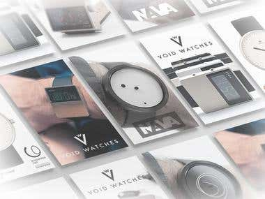 Void watches, Nava design