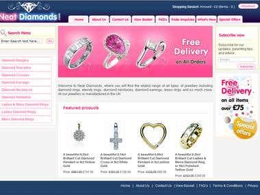 Online Jewelry web-site