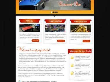 The Canton Sport Club-Wordpress Template