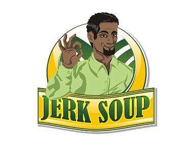 Logo Design for Jerk Soup