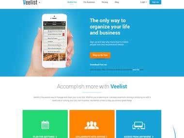 Veelist Website