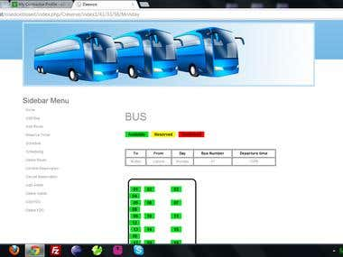 Bus Reservation System Online